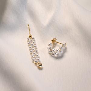 「order」mesh pearl pierce p148