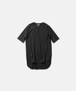 【ATON】ラウンドヘムTシャツ KKAGIM0016