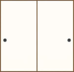 日新200(無地柄) 織物ふすま紙 203cm×100cm 1枚