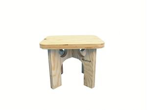 折りたたみ木製チェア -無塗装-