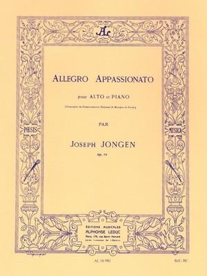 ジョンゲン:アレグロ・アパッショナート / ヴィオラ・ピアノ