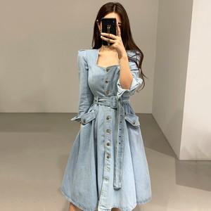 韓国ファッション ロングワンピース SHD381601