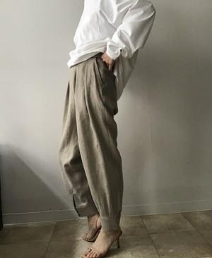 Villd/ Linen cuffs pants
