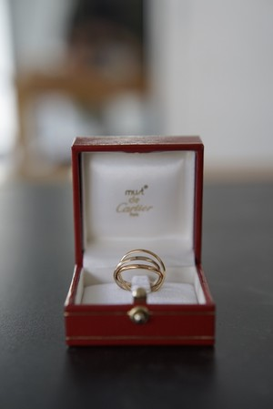<SOLD OUT>Cartier - Trinity Ring (must de Cartier)