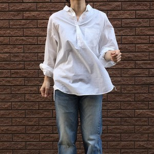 MBL BUTTON-DOWN PULLOVER chapter Ⅱ for WOMEN オーガニックコットン100/%
