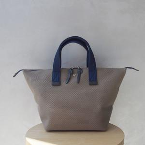 CaBas N°33 Bowler bag small KhakiBeige/Navy