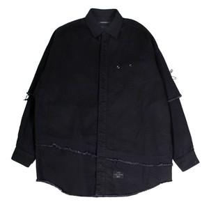 ALMOSTBLACK Black Denim Shirt