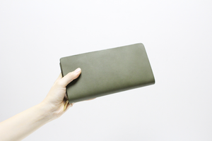 mu long wallet   -Khaki-