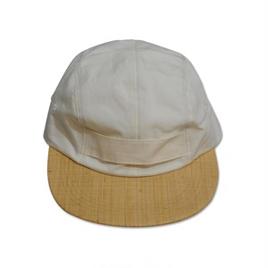 NOROLL / C/L HONK CAP -WHTxNAT-