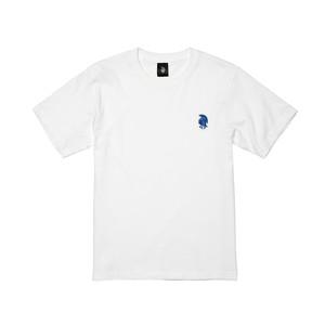 QTロゴ 半袖 白
