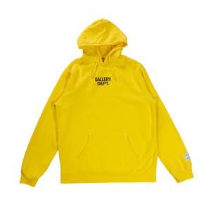 GALLERY DEPT Logo Hoodie Yellow