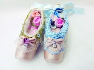 <9月22日>ミニミニトウシューズをデコレーションしよう!(Tiara Ballet Days)