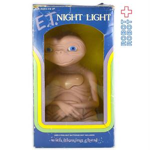 E.T. ナイトライト ソフビ・フィギュア 箱入
