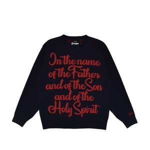 PRAYING SWEATER / NAVY