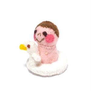 ミニおまる赤ちゃん(白C)