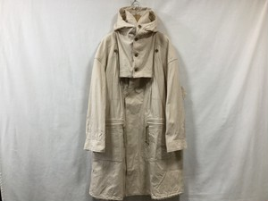 "HOMELESS TAILOR""REVERSIBLE COAT IVORY"""