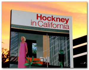 Hockney in California --- デヴィッド・ホックニー展図録 --- アート・ライフ/1994