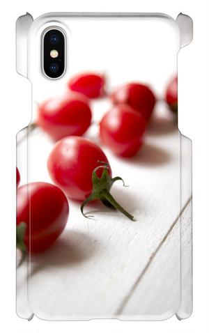 スマホケース 健康野菜 トマト君⑤ IphoneX