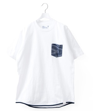 BANDANA POCKET T-SHIRT - WHITE