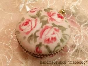 マカロンケース/pink rose