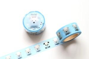 マスキングテープ(しろくま時々パンダ)