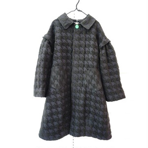 NO NAME HOUNDSTOOTH JQ COAT / WOMEN