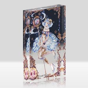 オリジナルアクリルブロック(クリア)【星之物語-Star Story- 牡羊座-Aries-】 / yuki*Mami