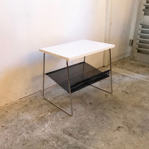 Dutch Modern Punching Metal Side Table オランダ