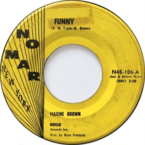 Maxine Brown – Funny / All In My Mind