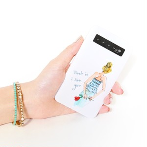 バッテリー《一輪の薔薇》iPhone/Android