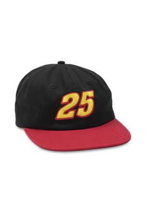 QUARTER SNACKS RACER CAP BLACK RED