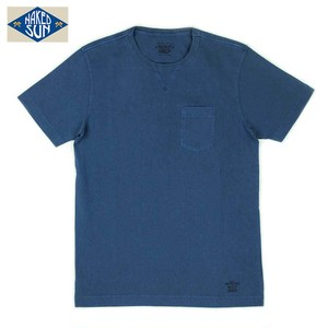 NS002006 USA COTTON CREW NECK Tee / NAVY