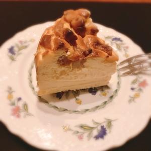 アップルバスクチーズケーキ