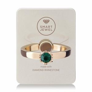 Smart Jewel-Lady Crown‐Champagne Gold-5月‐17SJ8-1-SGDEME