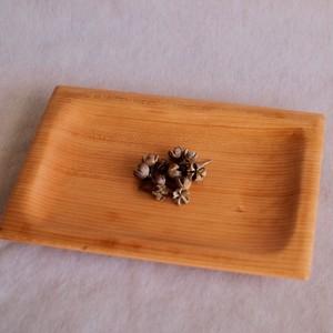 大きめの木製皿(チェリー)