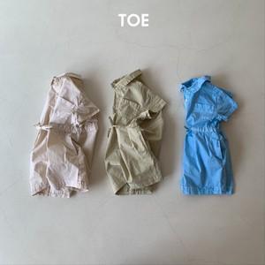 TOE / ギャルソンジャンプスーツ