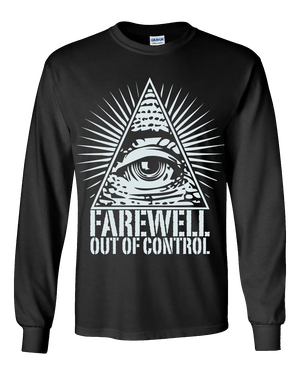 """Out Of Control"" Long sleeve T-shirts"