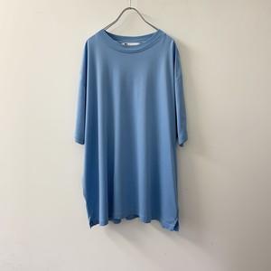 BACHRACH マーセライズドコットン Tシャツ ブルー size XL カナダ製 メンズ 古着