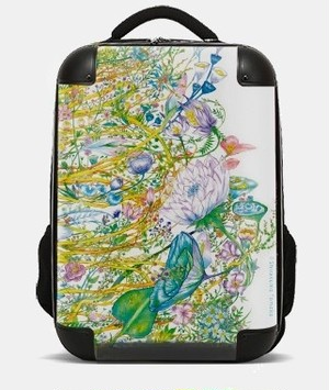 【白雲友子・神恩Gratitude/夢Dreams絵柄】リュックRucksack with the divine paintings of Shirakumo Tomoko