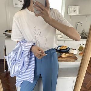 【送料無料】シンプルTシャツ 全3色・U2055