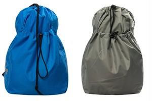メンズリュック巾着型。スポーツコーデおすすめブルー/グリーン/グレー3カラー