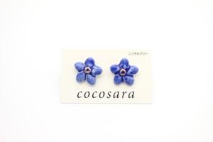 有田焼 ピアス  flower 2