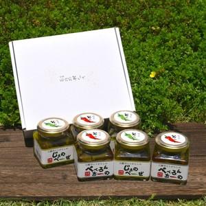 《京野菜おかずソース》 ギフト6本専用BOX入り