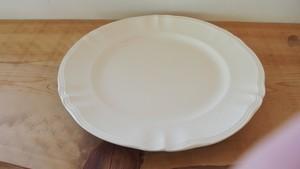 1940年代前後 サルグミンヌ製 大皿 花形リム