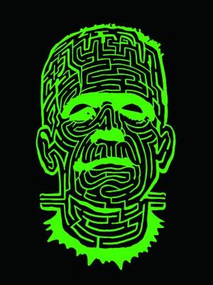 THE MAZE ブラックTシャツ グリーン