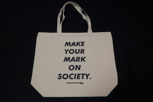 MAKE YOUR MARK TOTE BAG (L)