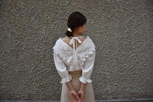 【Love in SHANGHAI】フリルトップス