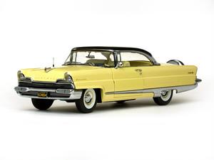 SunStar/サンスター リンカーン プレミア ハードトップ プレジデント 1956 ブラック/イエロー