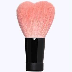 ハート型洗顔ブラシ 大 ピンク/黒軸