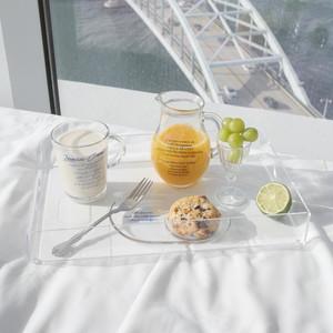 acryl tray / アクリル トレー クリア おうちカフェ 透明 韓国 北欧 雑貨